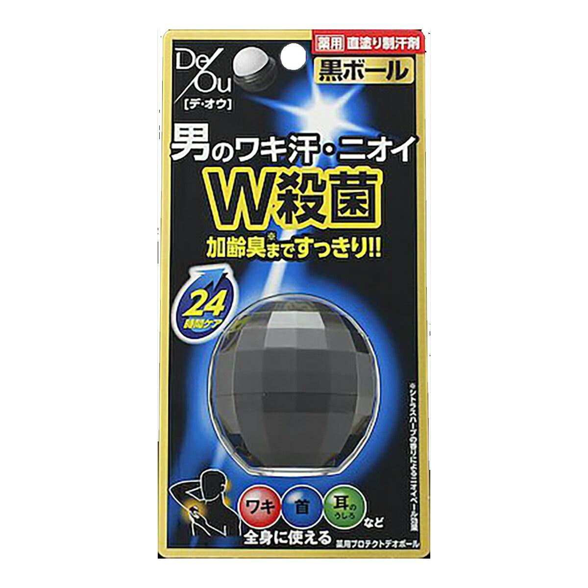【36個で送料無料】ロート製薬 DeOu ( デ・オウ ) 薬用プロテクトデオボール ( 内容量:15G ) ×36点セット ( 4987241139033 )
