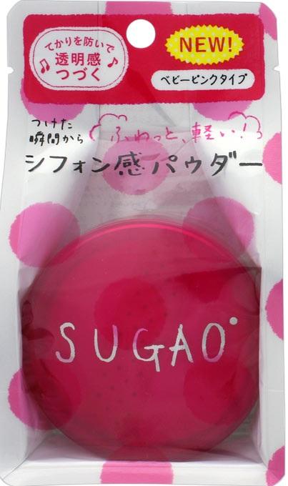로트 제약 SUGAO (スガオ) 쉬폰 느낌의 파우더 베이비 핑크 (내용량: 6G) (4987241145546)