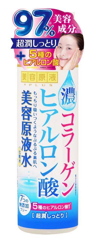 【48個で送料無料】コスメテックスローランド 美容原液 超潤化粧水 コラーゲン・ヒアルロン酸 185ml ×48点セット ( 4936201101122 )