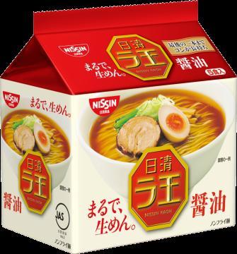 Nissin foods la King sauce 5 meal Pack x 6 point set (total 30 ingredients) together buy bargain! Case sales (bag noodles shoyu ramen)