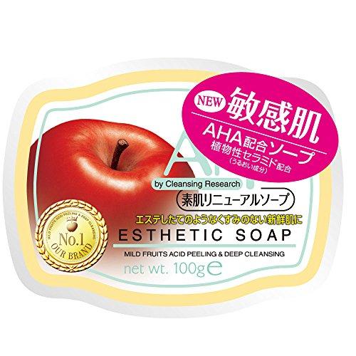 【送料込】スタイリングライフ AHA クレンジングリサーチ ソープ b 100g×48点セット 敏感肌用 素肌リニューアルソープ ( 洗顔石鹸 ) ( 4515061045854 )