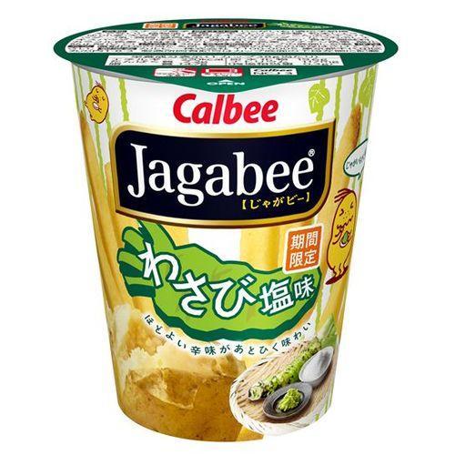 Jagaby of Calbee Jagabee Wasabi salt 38 g × 12 pieces set (food, candy and potato) (4901330641177)