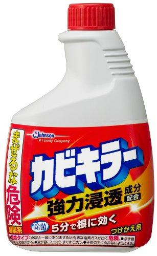 Johnson new mold killer refill 400 g bath mold measure detergent (cleaning  detergent mildew cleaner refill) × 5 piece set (4901609020047)