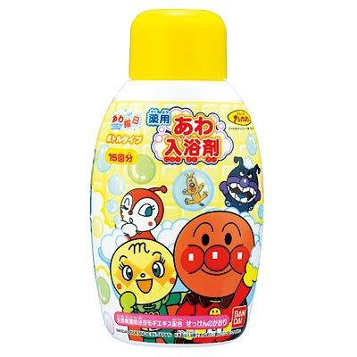 Bandai anpanman bubble bath bottle type body 300 ml SOAP smell lots of 15 × 5 piece set (4902425619088)