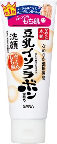SANA お中元 国内送料無料 豆乳発酵液 ダイズエキス 植物性コラーゲンを配合した洗顔フォームです ふわふわの泡立ちで ふっくらもちもちのなめらか肌に洗い上げます 4964596457814 なめらか本舗 豆乳のしっとりクレンジング洗顔 150g 豆乳イソフラボン含有の洗顔 サナ 保湿ライン 常盤薬品工業