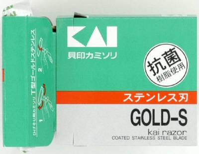 【送料込】貝印 T型ゴールドステン 5本 TGS-5H×400点セット ( 使い捨てカミソリ ) まとめ買い特価!ケース販売 ( 4901331005084 )
