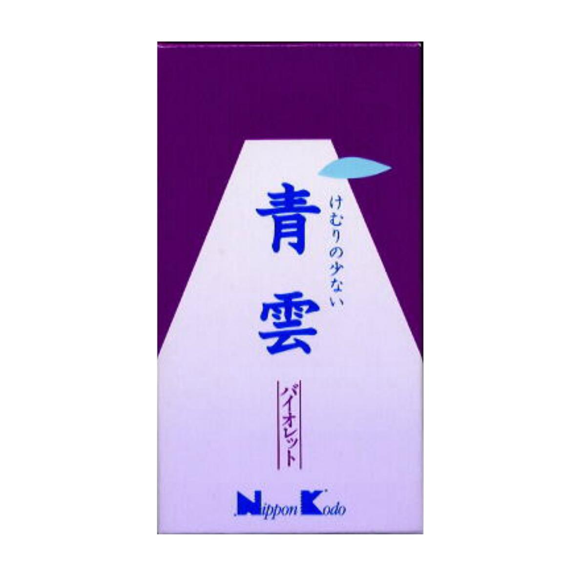 【送料無料】日本香堂 青雲 バイオレット バラ詰 #219 155G×60点セット まとめ買い特価!ケース販売 ( 4902125219007 )