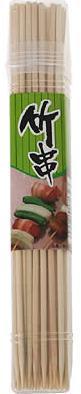 串物の料理やお弁当に、天然の竹を使用。 やなぎプロダクツ DN 竹串 18CM ( 4975810181323 )