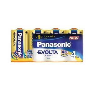 【送料込】@パナソニック アルカリ乾電池 EVOLTA ( エボルタ ) 単1形 4本 LR20EJ/4SW×30点セット まとめ買い特価!ケース販売 ( 4984824811294 )