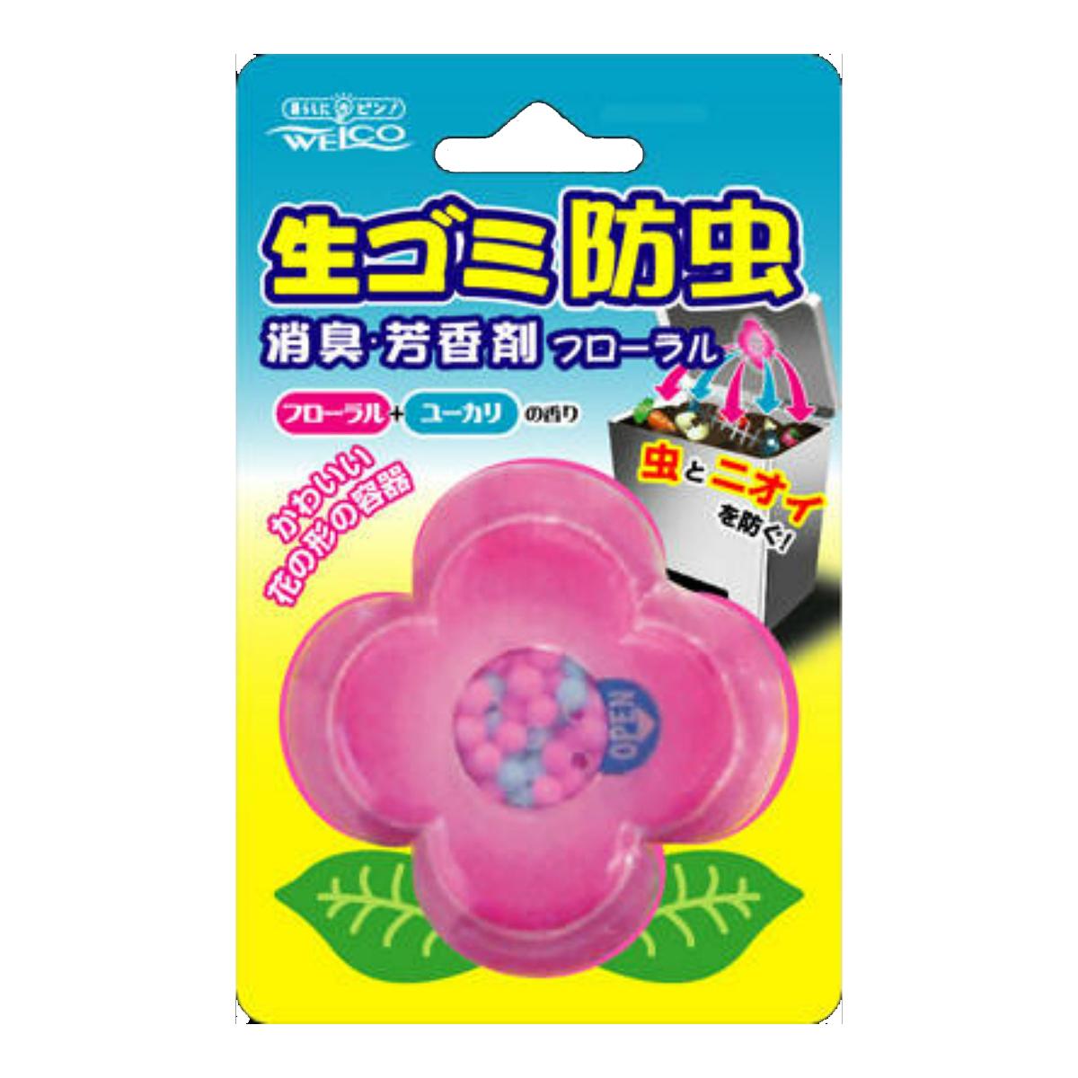 【送料無料】ウエ・ルコ 生ゴミ防虫・消臭・芳香剤 8G×100点セット まとめ買い特価!ケース販売 ( 4995860510652 )
