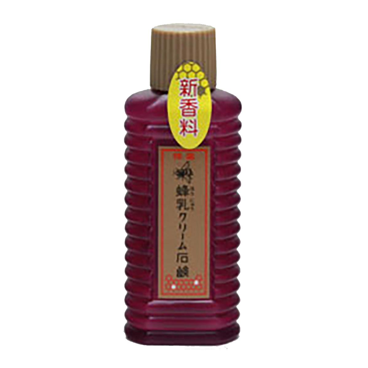 【送料無料】蜂乳 ホウニュウクリームセッケン80CC×156点セット まとめ買い特価!ケース販売 ( 4902496100027 )