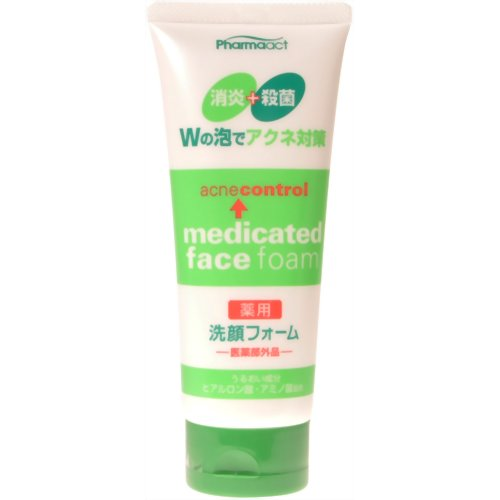 Medicated facial wash