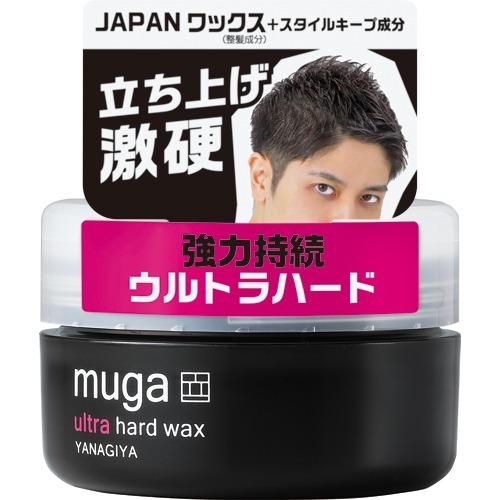 【送料無料】柳屋本店 MUGA ウルトラハードワックス 85g ほのかに香るマリンフローラルの香り×36点セット まとめ買い特価!ケース販売 ( 4903018211177 )