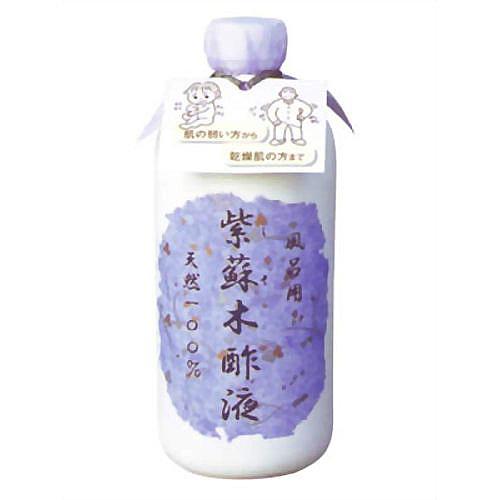 【送料無料】森林研究所 紫蘇木酢液 490ml×20本セット まとめ買い特価! ( 入浴剤 ) しそと木酢液だけで作られた天然成分100%の入浴液 ( 4942446600108 )
