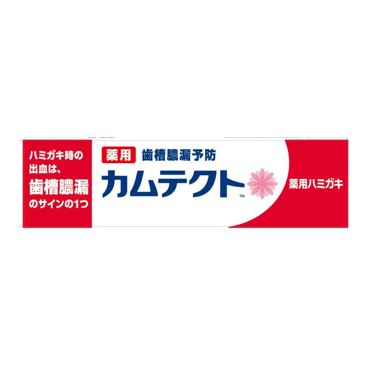 【送料込】カムテクト 薬用ハミガキ 115g 歯槽膿漏予防 医薬部外品×72点セット まとめ買い特価!ケース販売 ( 4901080766212 )
