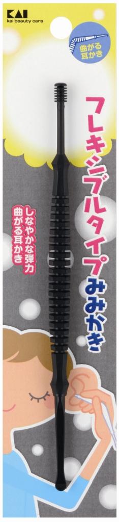 【送料無料】KQ0288耳ケアフレキシブルタイプ耳かき ( 黒 ) ×240点セット まとめ買い特価!ケース販売 ( 4901601258578 )