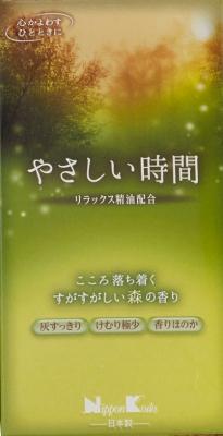 【送料無料】やさしい時間 森の香り バラ詰×60点セット まとめ買い特価!ケース販売 ( 4902125266025 )