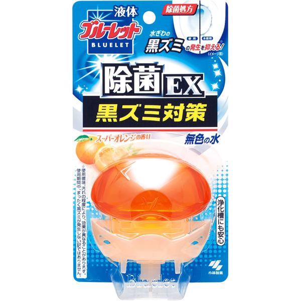 【送料無料】液体ブルーレットおくだけ 除菌EX 本体オレンジ×48点セット まとめ買い特価!ケース販売 ( 4987072034606 )