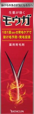 【送料無料・まとめ買い×5】バスクリン モウガ 薬用育毛剤 120ml 医薬部外品 ×5点セット ( 4548514510807 )