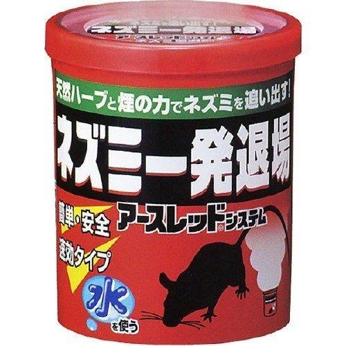 お買い得 ネズミ一発退場 は ハッカオイルと琉球ハーブ 物品 月桃 を主体とする天然ハーブと 煙成分でネズミを一発で退散させるねずみ忌避剤 4901080254016 送料無料 10g 鼠駆除 ×5点セット アース製薬 まとめ買い×5 ネズミよけ ねずみ忌避剤