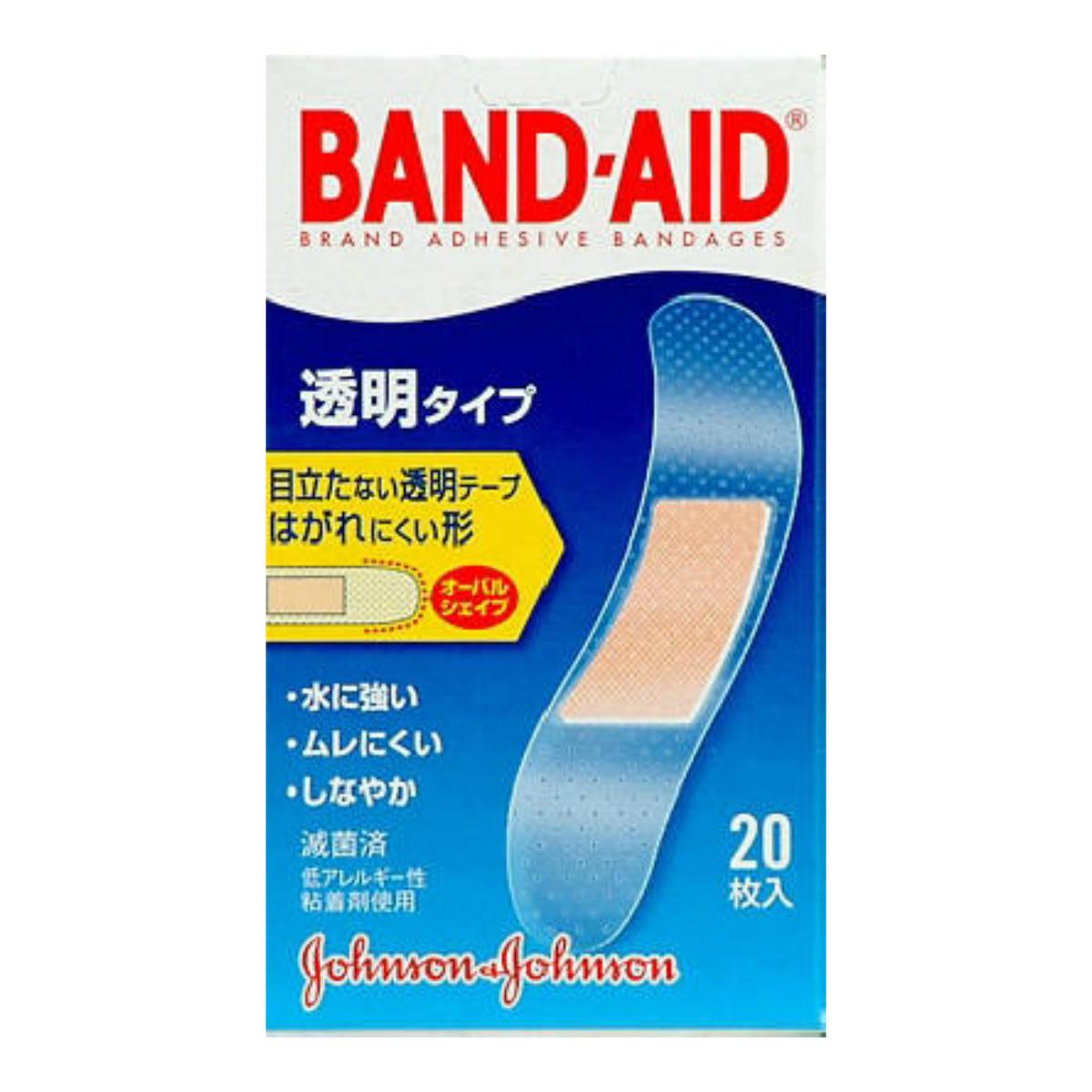 【送料無料】ジョンソン バンドエイド2011 透明 20枚×72点セット まとめ買い特価!ケース販売 ( 4901730020114 )