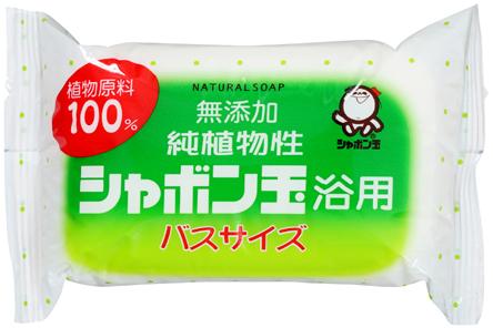 【送料無料】シャボン玉石けん シャボン玉 純植物性 浴用 バスサイズ 155g ( 無添加石鹸 ) ×60点セット まとめ買い特価!ケース販売 ( 4901797003051 )