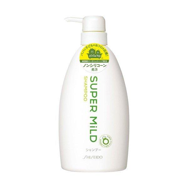 スーパーマイルドシャンプー ポンプタイプ ナチュラルでフレッシュな清々しいグリーンの香りのシャンプーです プロテクションAMT採用で髪の大切な成分を守ります 令和 早い者勝ちセール ファイントゥデイ資生堂 送料無料カード決済可能 シャンプー 自然のすがすがしい風を感じるようなグリーンフローラルの香り 4901872895830 メーカー直売 600ml スーパーマイルド 本体 ジャンボサイズ