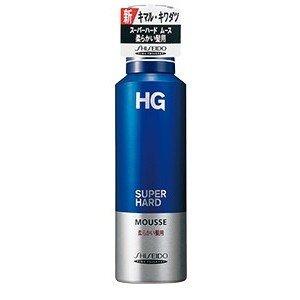【送料無料】資生堂 HG スーパーハードムース 柔らかい髪用×36点セット まとめ買い特価!ケース販売 ( 4901872899500 )