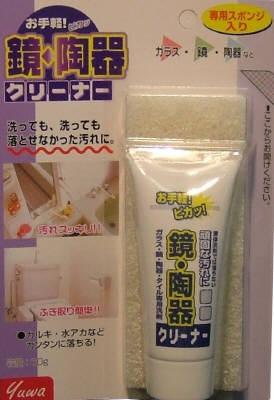 【送料無料】友和お手軽 鏡・陶器クリーナー×48点セット まとめ買い特価!ケース販売 ( 4516825001628 )