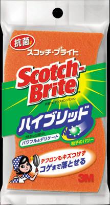 【送料無料】住友スリーエム スコッチブライト ハイブリッド HB-21KE-H ( Scotch Brite たわし ) ×120点セット まとめ買い特価!ケース販売 ( 4547452321940 )
