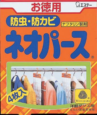 【40個で送料無料】エステー ネオパース 洋服ダンス用4枚入300g ×40点セット ( 4901070300716 )