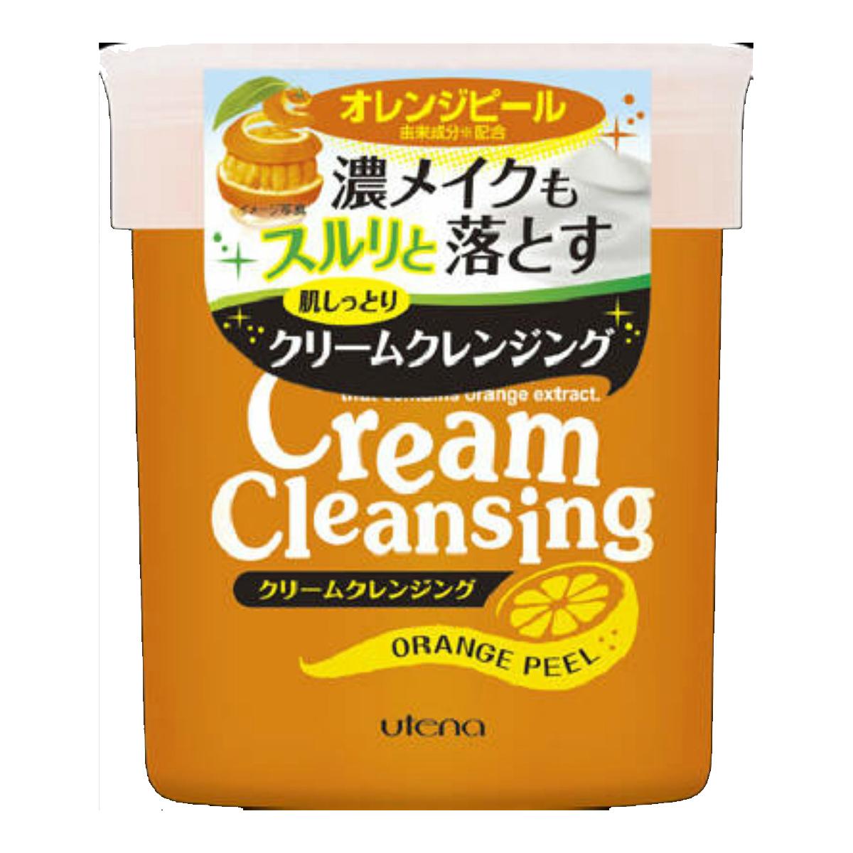 【24個で送料無料】ウテナ オープル クリームクレンジング ( オレンジピール由来成分配合 ) 280g ×24点セット ( 4901234312418 )