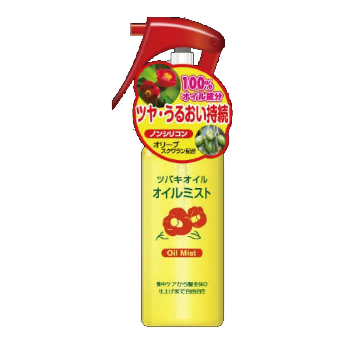 【送料込】黒ばら本舗 ツバキオイルミスト 80ml  フローラルの香り 椿油 ( 椿オイル ) スタイリング ヘアスプレー・ミスト×48点セット まとめ買い特価!ケース販売 ( 4901508973499 )