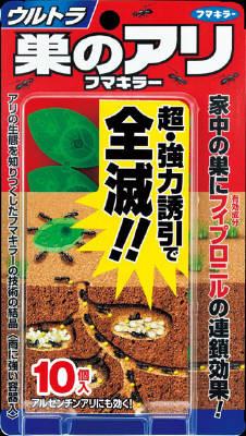 フマキラー 울트라 둥지 알리 フマキラー 10 개입 (벌레 제 개미 용 개미 제거 개미 퇴치) (4902424430639)