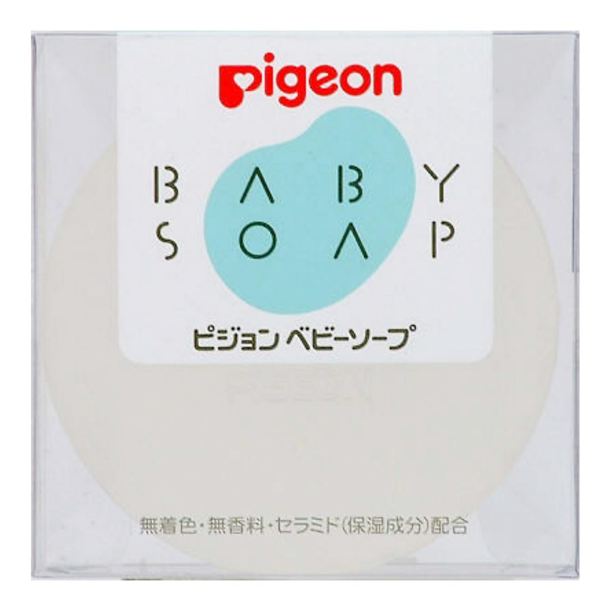 【送料無料・まとめ買い×080】ピジョン ベビーソープ 替 90g ×080点セット(4902508081726)