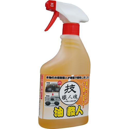 【送料無料】技職人魂 油職人 油用合成洗剤 500ml×12点セット 業務用住居洗剤 ( 4560302530170 )