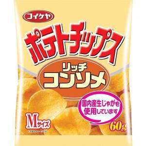 Lake pond store crisps rich consomme taste M size 60 g × 12 bags (sweet potent Coachella) (4901335110036) ★ super sale price