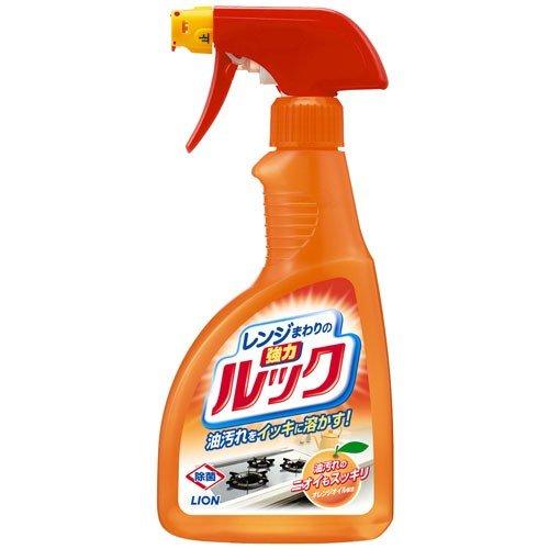 しつこい油汚れを素早くラクに落とすレンジまわり用強力洗剤です W洗浄メカニズム で しつこい油汚れをすばやく溶かして落とします 令和 早い者勝ちセール 激安セール レンジまわりのルック スプレー 未使用 レンジまわり用強力洗剤 ライオン 4903301142065 400ml