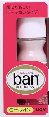 【送料無料】ライオン Ban ( バン ) ロールオン ぬりやすいローションタイプ ( デオドラント 制汗剤 ロールオン ) ×72点セット まとめ買い特価!ケース販売 ( 4903301188711 )