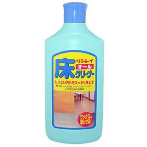 リンレイ オール床クリーナー お値打ち価格で 500mlは あらゆる床のしつこい汚れもスッキリ落とし ワックスはくり剤としても使える住居用洗剤 限定特価 4903339781021 500ml
