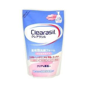 【送料無料】クレアラシル 薬用泡洗顔フォーム マイルドタイプ つめかえ用 ( 180mL ) ×36点セット まとめ買い特価!ケース販売 ( 4906156100303 )