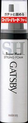 【送料無料】マンダム ギャツビー スタイリングフォーム スーパーハード ハンディ 65g×48点セット まとめ買い特価!ケース販売 ( 4902806584103 )