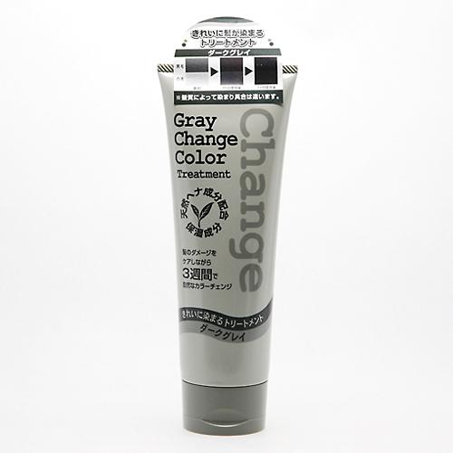 【送料無料】ジュン・コスメティック グレイチェンジカラー トリートメント ダークグレイ 240g×36点セット まとめ買い特価!ケース販売 ( 4964653102244 )