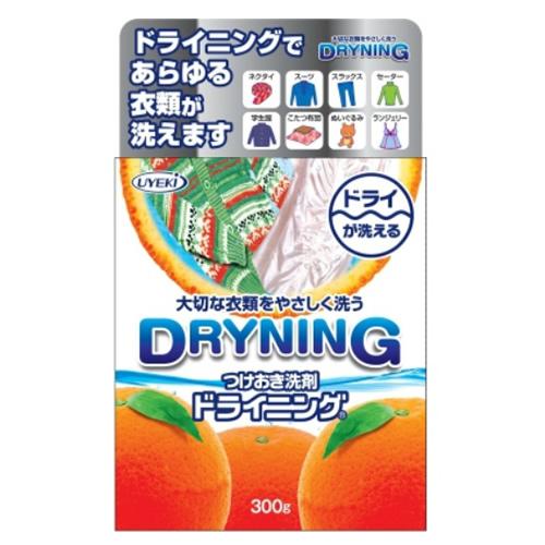 【送料無料】UYEKI つけおき洗剤 ドライニング 300g×24点セット まとめ買い特価!ケース販売 ( 4968909055308 )