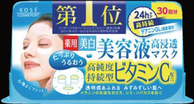 【送料無料】コーセー クリアターン エッセンスマスク ビタミンC 30回分×24点セット まとめ買い特価!ケース販売 ( 4971710319361 )