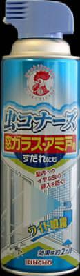【送料無料】大日本除虫菊 虫コナーズ 窓ガラス・アミ戸用 スプレー 450ml×20点セット まとめ買い特価!ケース販売 ( 4987115522374 )