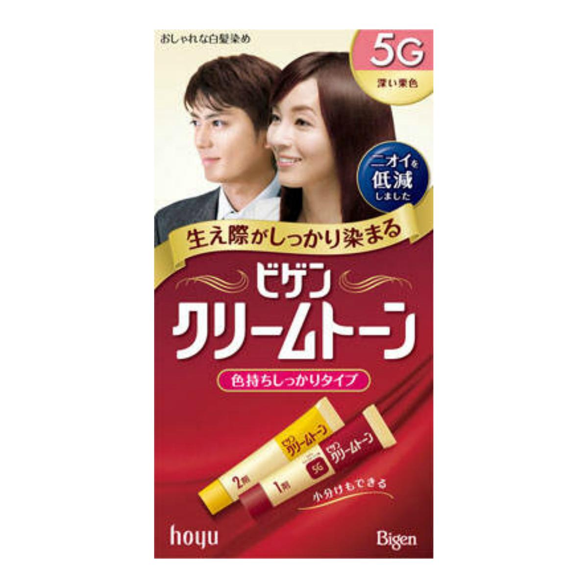 【送料無料】ホーユー ビゲン クリームトーン 5G×54点セット まとめ買い特価!ケース販売 ( 4987205080500 )