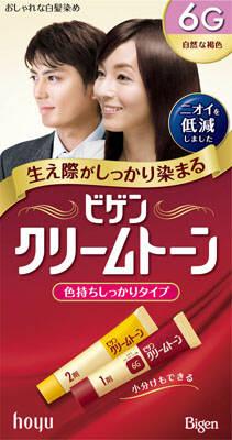 【送料無料】ホーユー ビゲン クリームトーン 6G×54点セット まとめ買い特価!ケース販売 ( 4987205080609 )