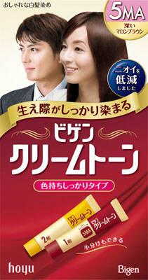 Hoyu bigen cream tone 5 MA x 10 points set ★ together buy sale! (4987205081705)