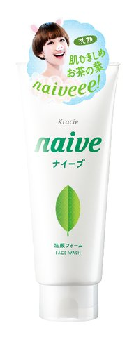 【36個で送料込】ナイーブ 洗顔フォーム ( お茶の葉 ) 130G ×36点セット ( 4901417674432 )